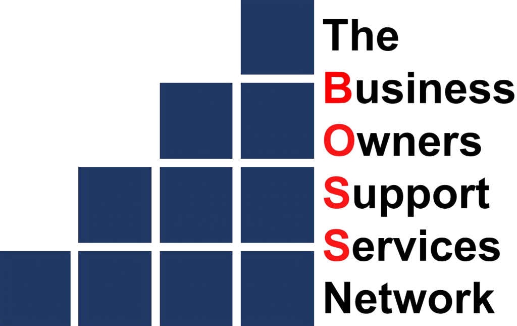 The BOSS Network Logo — When you need to grow your business - Take it to the BOSS